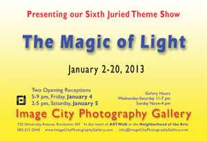The Magic of Light 2013